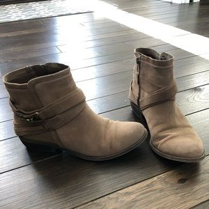 Fergalicious Booties with Buckle Accent
